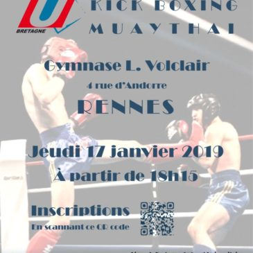 championnat conférence Kick boxing & Muay Thaï