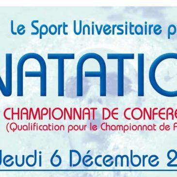 NATATION : Championnat de Conférence
