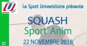 Squash : Sport'Anim @ Rouen Squash | Rouen | Normandie | France