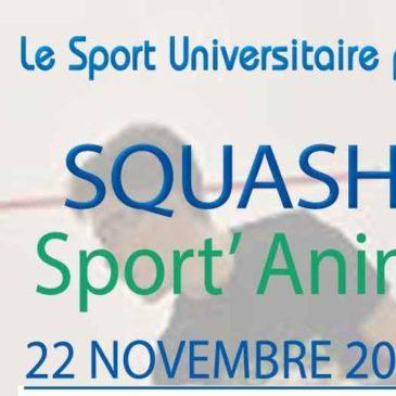 SQUASH : Sport'Anim