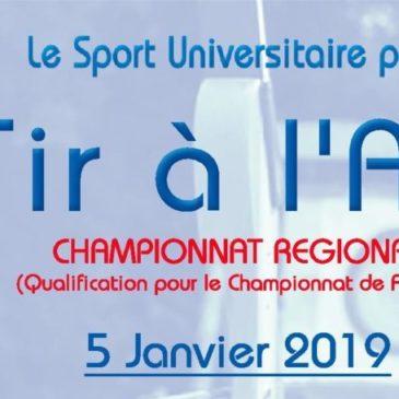 TIR A L'ARC : Championnat régional