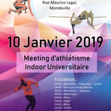 Championnat inter-académique d'Athlétisme en salle