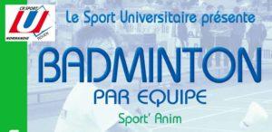 Badminton par équipe : Sport'Anim @ Gymnase du Madrillet | Saint-Étienne-du-Rouvray | Normandie | France