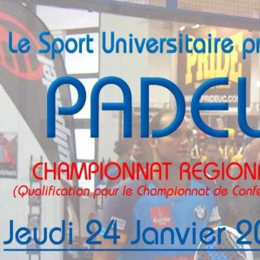 PADEL : Championnat régional