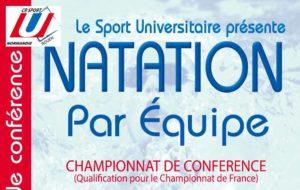 Natation par équipe : championnat de conférence @ Piscine Guy Boissière | Rouen | Normandie | France