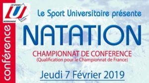 Natation : programme complet championnat de conférence @ Piscine Guy Boissière | Rouen | Normandie | France