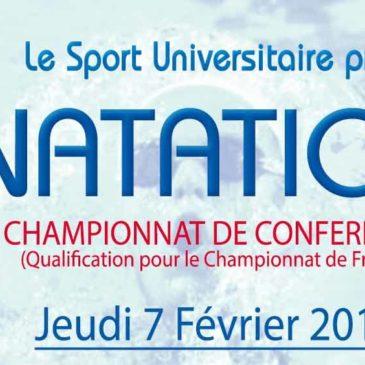 NATATION : Championnat de Conférence Programme Complet