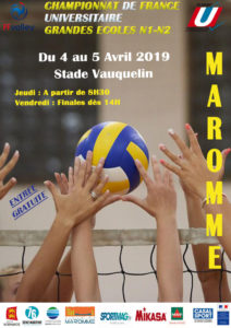 VOLLEY-BALL : Championnat de France des Grandes Ecoles @ Stade Vauquelin | Maromme | Normandie | France