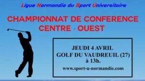 Golf : Championnat de Conférence @ Golf du Vaudreuil | Le Vaudreuil | Normandie | France