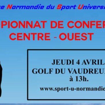 GOLF : Championnat de Conférence