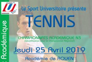 TENNIS : Championnat Académique @ Académie de Rouen | Mont-Saint-Aignan | Normandie | France