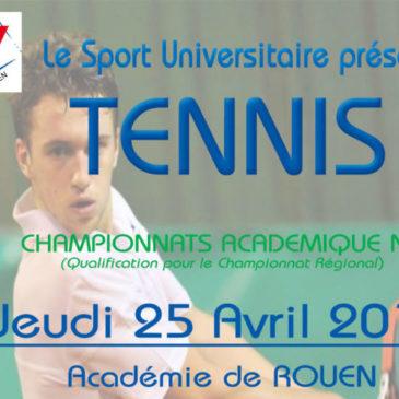 TENNIS : Championnat Académique