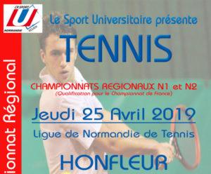 Tennis : Championnat Régional @ Ligue de Normandie de Tennis  | Honfleur | Normandie | France