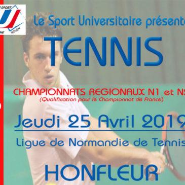 TENNIS : Championnat Régional