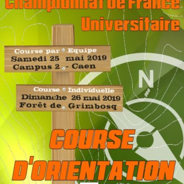 Course d'Orientation : Championnat de France Universitaire