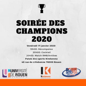 Soirée des Champions 2020