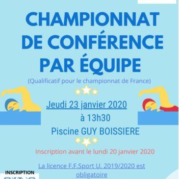 Championnat de Conférence par équipe de Natation