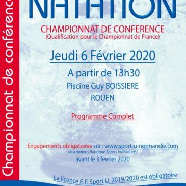 Championnat de Conférence Natation