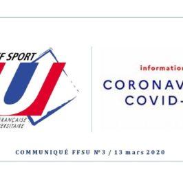 information Sport U - COVID 20200313
