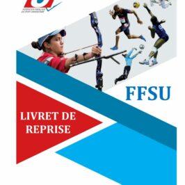 Couverture du guide de reprise FFSportU