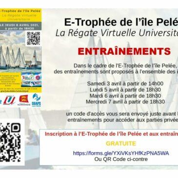 E-Trophée de l'ile Pelée – Entrainements